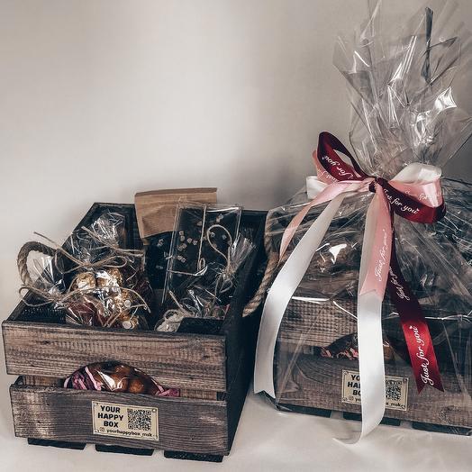 Coffee Tea Mix BOX/ Набор кофе + чай: букеты цветов на заказ Flowwow