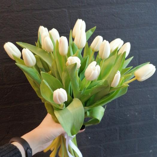 Тюльпановое настроение: букеты цветов на заказ Flowwow