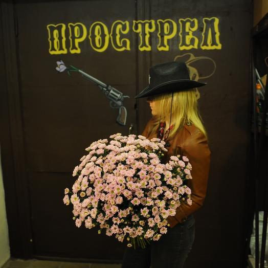 Букет хризантем сантини: букеты цветов на заказ Flowwow