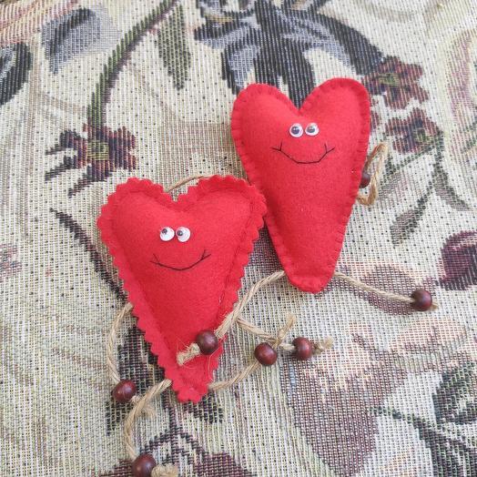 Пара сердечек