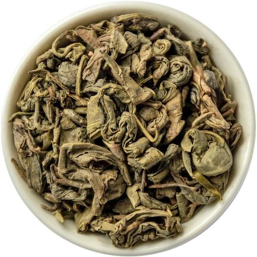 Зеленый крупнолистовой чай Порох - Ганпаудер