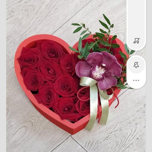 Коробка ,,Love