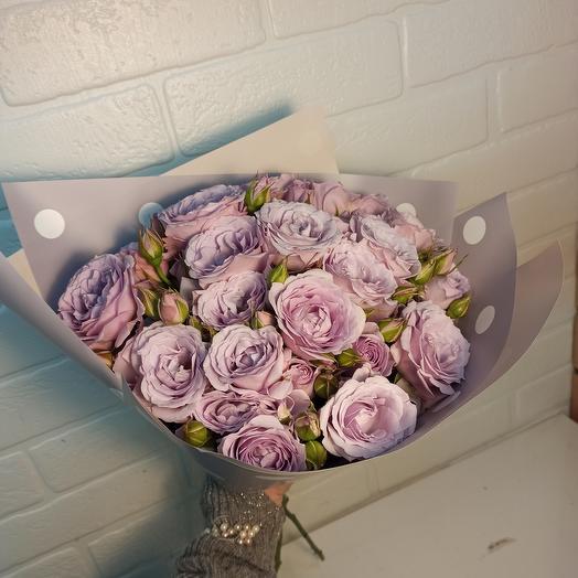 Букет ароматных роз