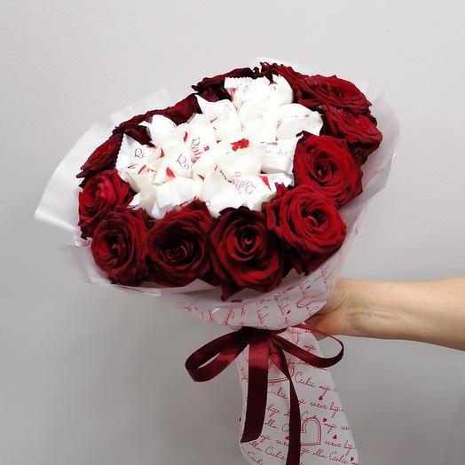 Hearts Flowers*Букет форме сердца️
