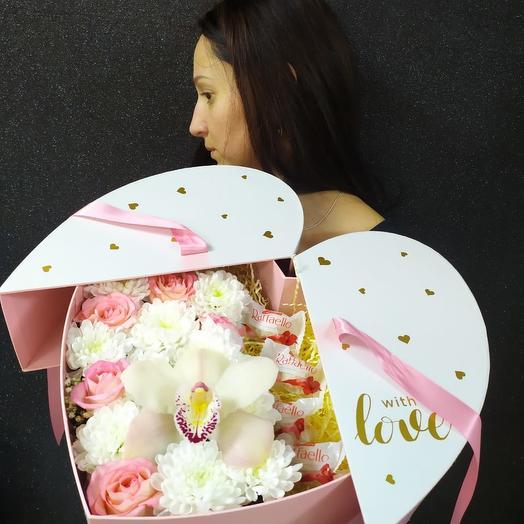 Валентинка с Raffaello