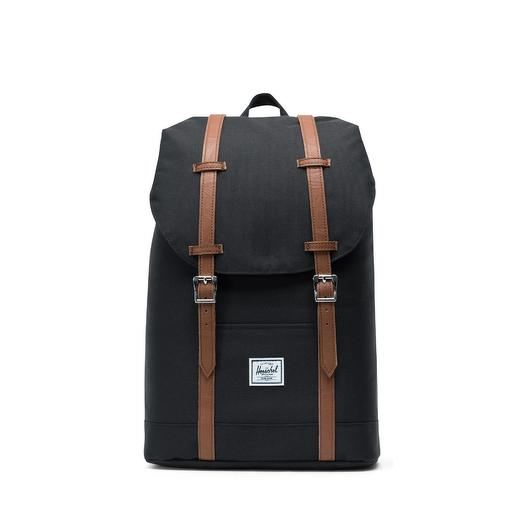 Рюкзак Herschel Retreat Mid-Volume Black/Tan Synthetic Leather  Herschel 10329-00001-OS