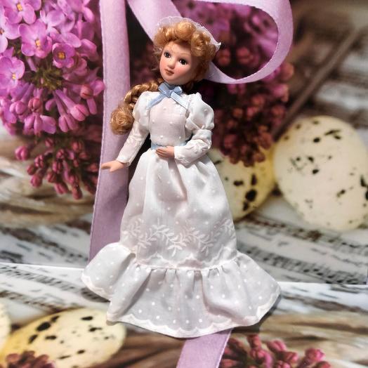 Куколка фарфоровая «Миссис»