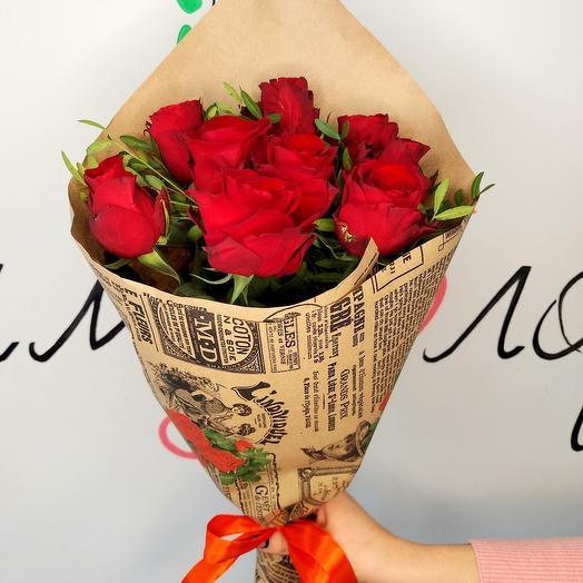 Букет роз ☆ 15