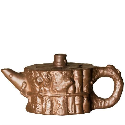 """чайник """"пень"""", глина, 220 мл 1 шт"""