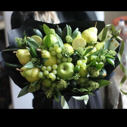 Фруктовый Букет Грин Дэй 🍏из фруктов