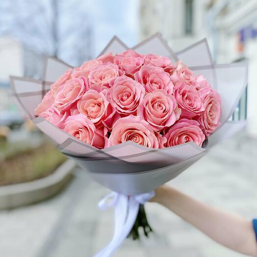 "Букет из 25 роз ""Hermosa"""
