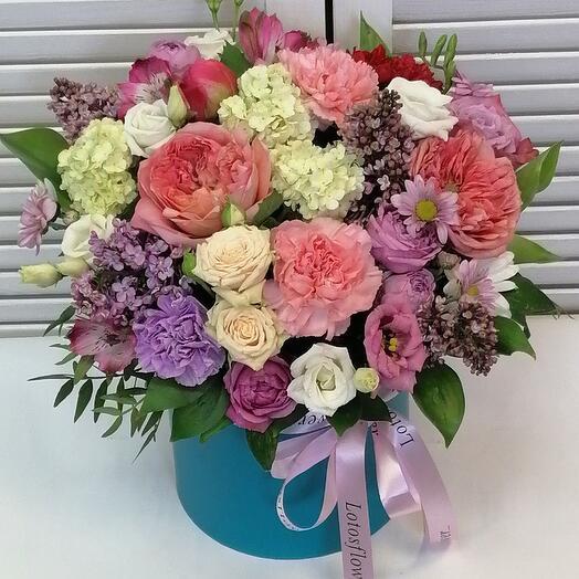 """Цветы в коробке""""Восточная сказка"""" 🥰"""