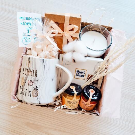 Подарок девушке подруге дочке набор в коробке