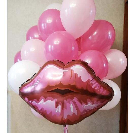Шары губы влюблённой