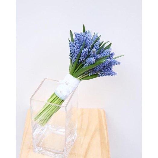 Свадебный букет из мускари: букеты цветов на заказ Flowwow