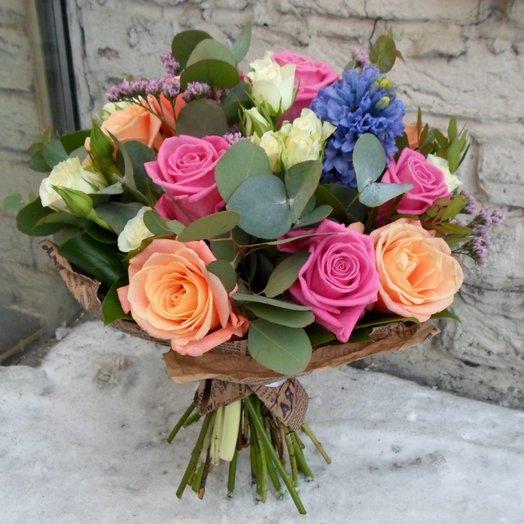 Мороз и Солнце: букеты цветов на заказ Flowwow