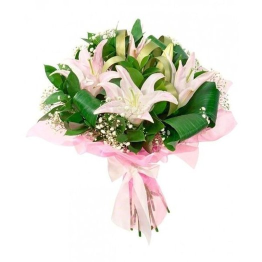 БЦ-160164 Лили: букеты цветов на заказ Flowwow