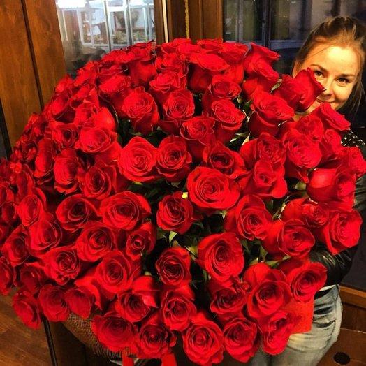 Букет 101 Фридом: букеты цветов на заказ Flowwow