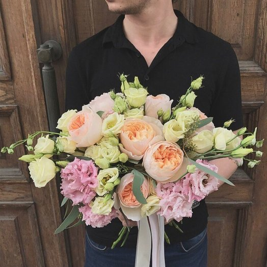 Букет английских роз: букеты цветов на заказ Flowwow