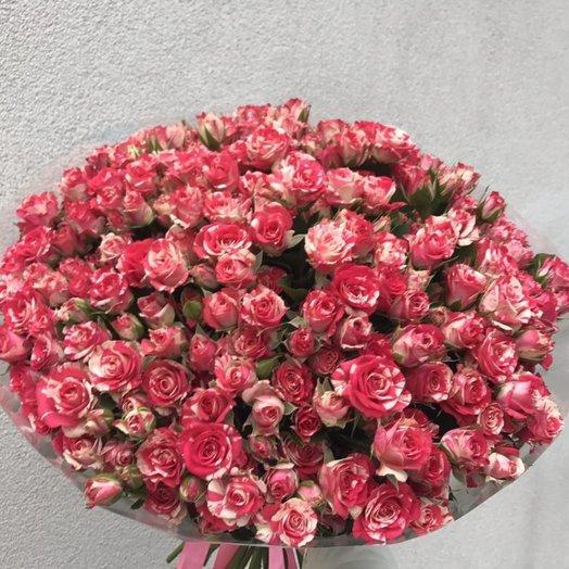 51 шикарная кустовая роза