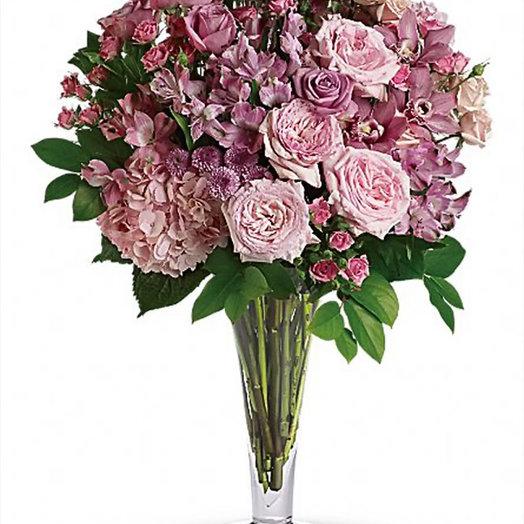 Букет «Влюбленность»: букеты цветов на заказ Flowwow