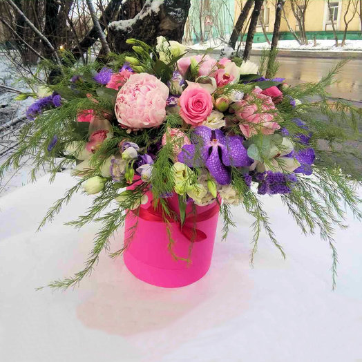 Цветочный коктейль: букеты цветов на заказ Flowwow