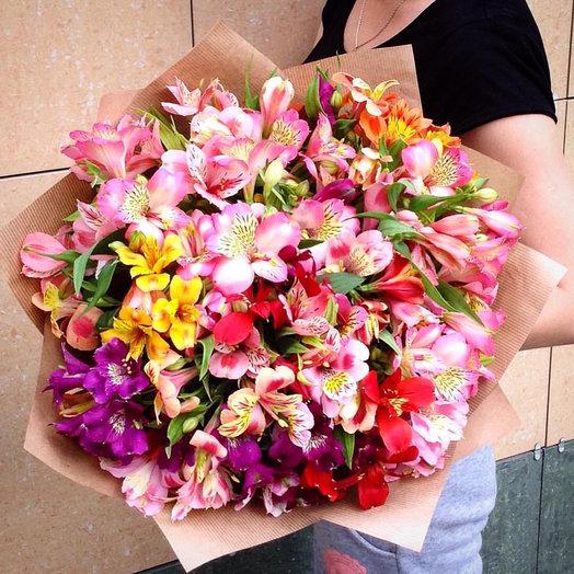 Букет из альстромерии микс: букеты цветов на заказ Flowwow