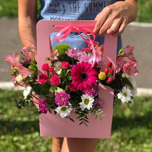 Цветочная Сумка: букеты цветов на заказ Flowwow