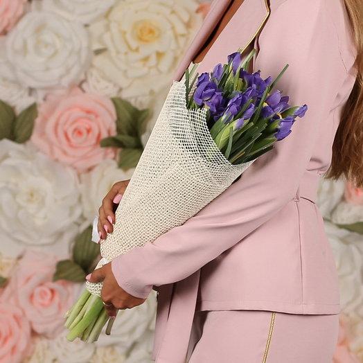 21 ирис: букеты цветов на заказ Flowwow