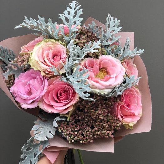 Розовое счастье : букеты цветов на заказ Flowwow