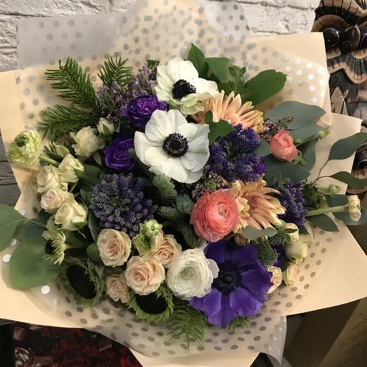 Красиво, лаконично, но с экзотикой: букеты цветов на заказ Flowwow