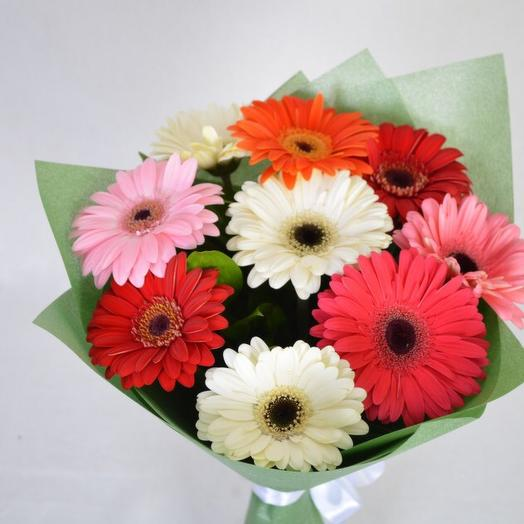 Букет из Гербер: букеты цветов на заказ Flowwow