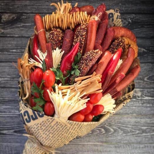 Букет ассорти «Гурмэ»: букеты цветов на заказ Flowwow