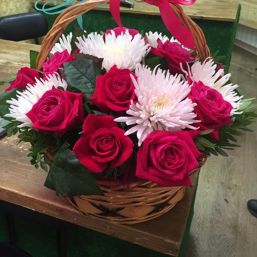 Корзина  подарочная: букеты цветов на заказ Flowwow