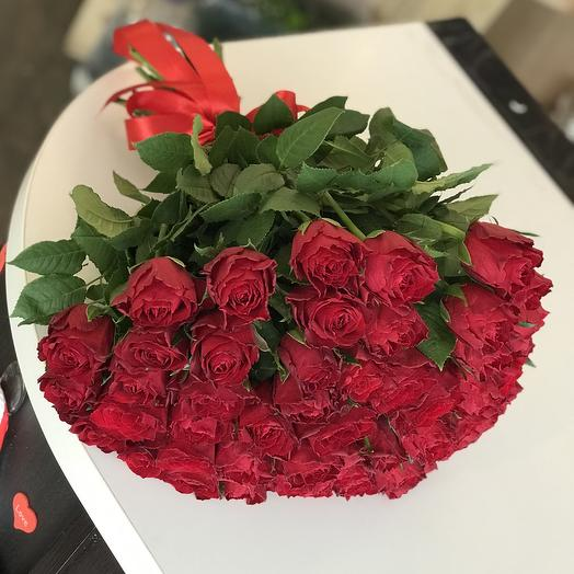 51 комплимент: букеты цветов на заказ Flowwow