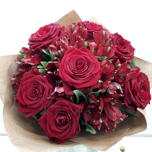 Евро-букет: букеты цветов на заказ Flowwow