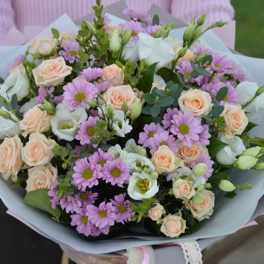 Кружевной мотив: букеты цветов на заказ Flowwow