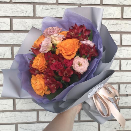 Сиреневый туман 🌸: букеты цветов на заказ Flowwow