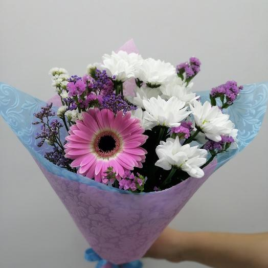 Букет на 1 сентября со статицей: букеты цветов на заказ Flowwow