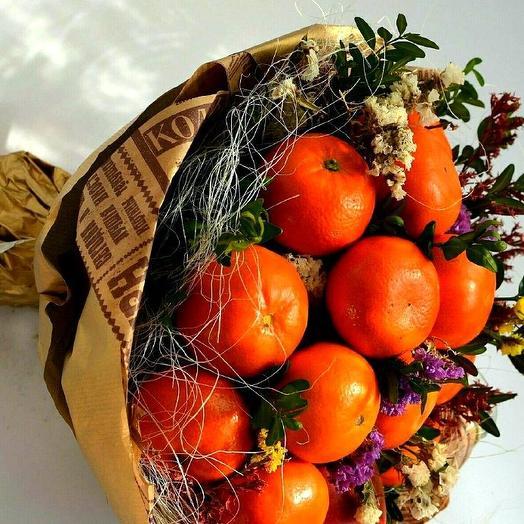 Съедобный букет 3: букеты цветов на заказ Flowwow