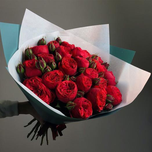 """Букет """"Ред Пьяно"""": букеты цветов на заказ Flowwow"""