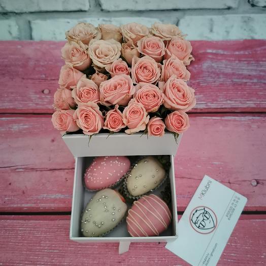 Шкатулка Mini: букеты цветов на заказ Flowwow
