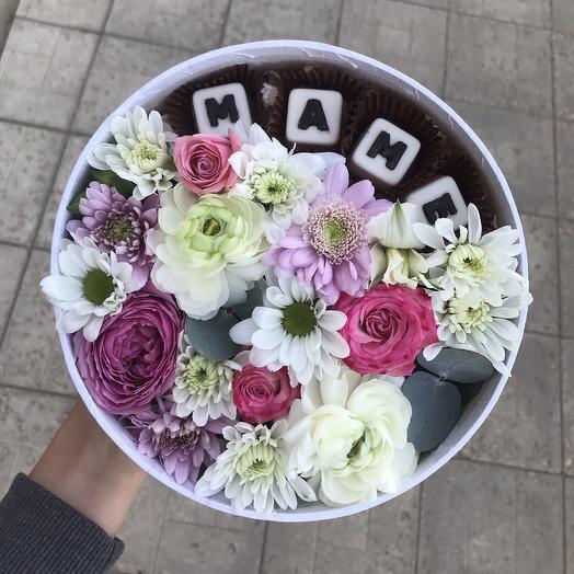 Коробочка для Мамы: букеты цветов на заказ Flowwow
