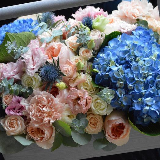 "Ящик с цветами ""Острова грез"": букеты цветов на заказ Flowwow"