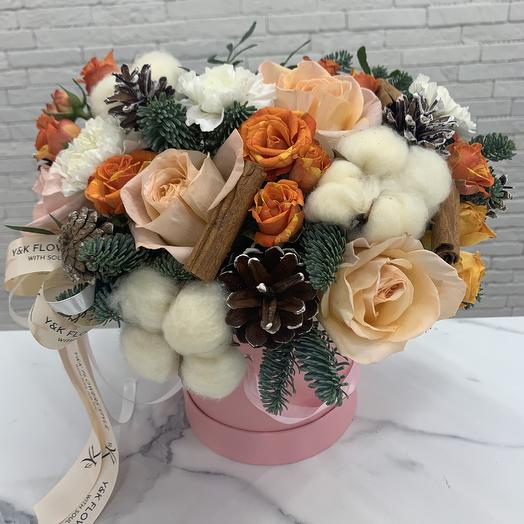 Зимнее счастье: букеты цветов на заказ Flowwow
