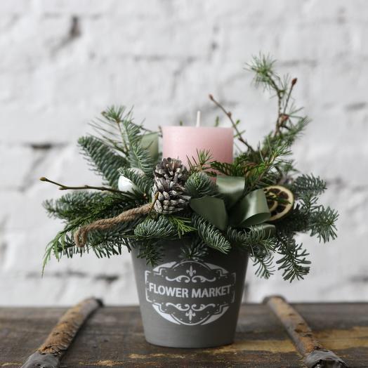 Рождественские узоры: букеты цветов на заказ Flowwow