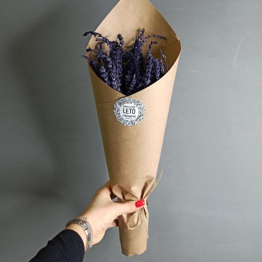 Букет лаванды: букеты цветов на заказ Flowwow