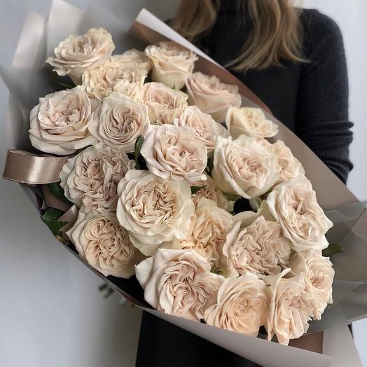 "Букет роз ""чайная роза"""