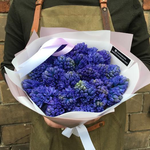 Сиреневые гиацинты: букеты цветов на заказ Flowwow