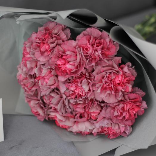 """Моно-букет из гвоздик """"Гипноз"""": букеты цветов на заказ Flowwow"""
